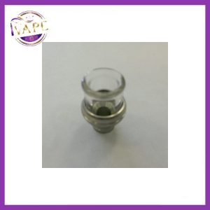 Spheroidal Glass Drip Tip